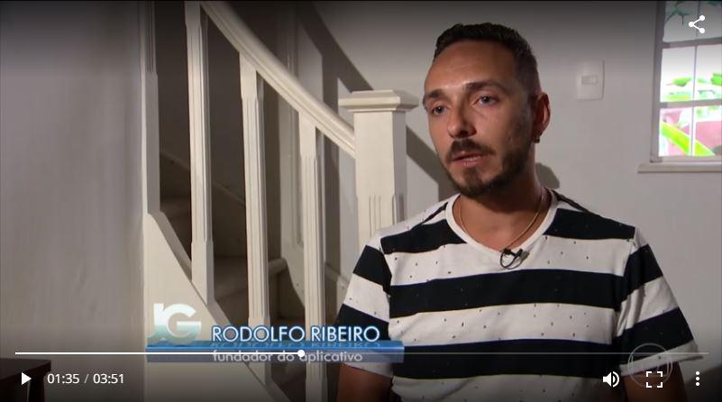 Entrevista 7wavse com Rodolfo no Jornal da Globo